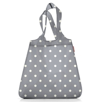 Сумка складная Mini maxi shopper white dots, Reisenthel