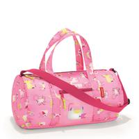 Сумка складная детская dufflebag abc friends pink, полиэстер, Reisenthel
