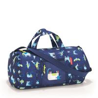 Сумка складная детская dufflebag abc friends blue, полиэстер, Reisenthel