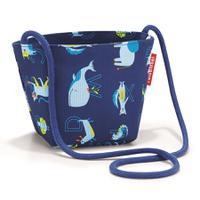 Сумка детская minibag abc friends blue, полиэстер, Reisenthel